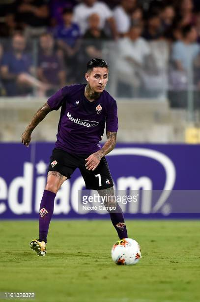 Erick Pulgar of ACF Fiorentina in action during the preseason friendly football match between ACF Fiorentina and Galatasaray SK ACF Fiorentina won 41...