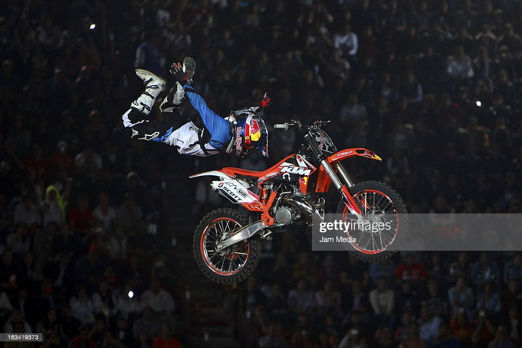 Erick Ruiz during the Red Bull X-Fighters in Plaza Mexico on march 08, 2013 in Mexico City, Mexico.