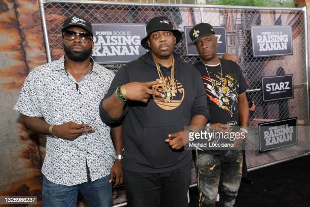 Erick Sermon attends 'Power Book III: Raising Kanan' global premiere event and screening at Hammerstein Ballroom on July 15, 2021 in New York City.