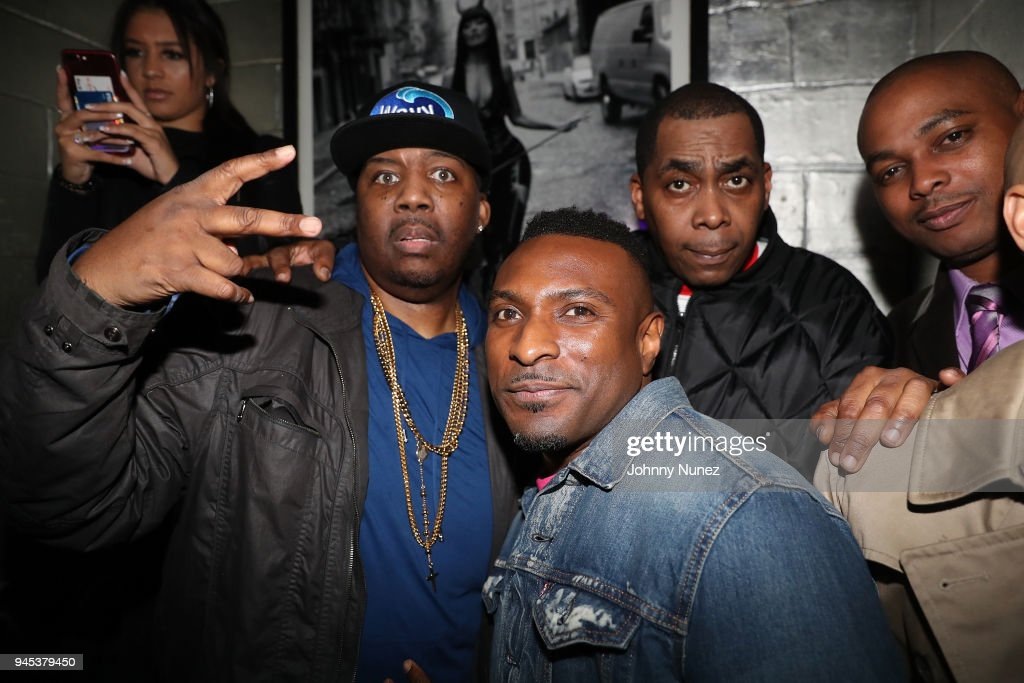 Erick Sermon, Younglord and Parrish Smith attend the Tracklib