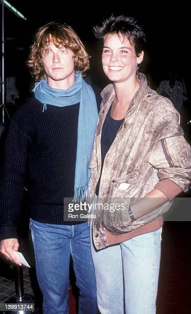 Erick Stoltz and Alexandra Paul at the Premiere of 'Legal Eagles' Los Angeles Los Angeles