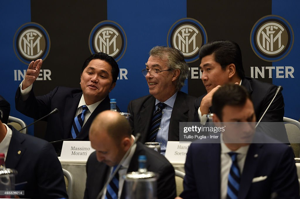 FC Internazionale Shareholder's Meeting : News Photo