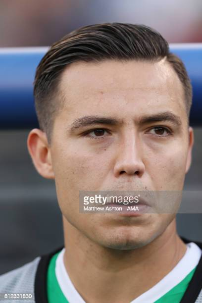 Erick Torres of Mexico during the 2017 CONCACAF Gold Cup Group C match between Mexico and El Salvador at Qualcomm Stadium on July 9 2017 in San Diego...