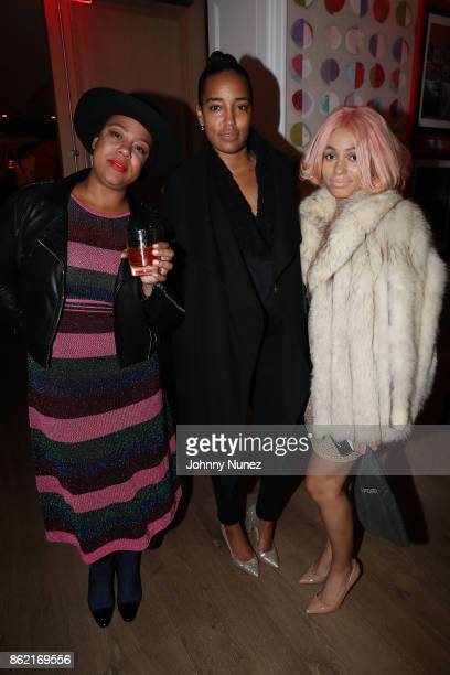 Ericka Regine, Naeemah Leonard and Louise Chantal Attend Remy Martin Presents Carte Blanche Merpins With Cellar Master Baptiste Loiseau And Super...