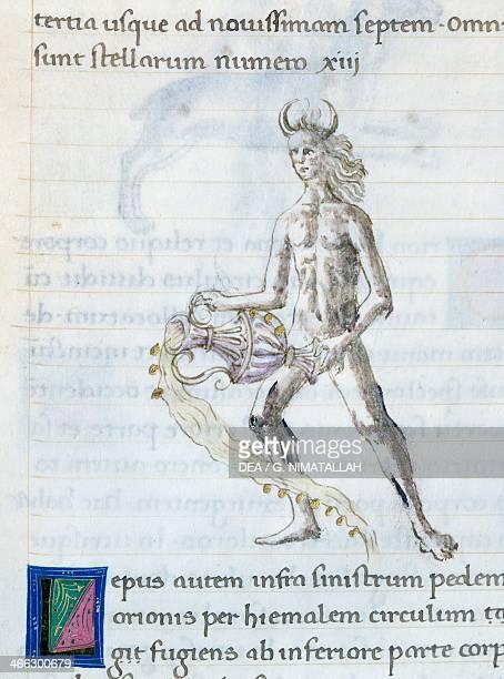 Eridanus miniature from De astronomia by Hyginus Ms Aldini 490 f 93 r Italy 15th century