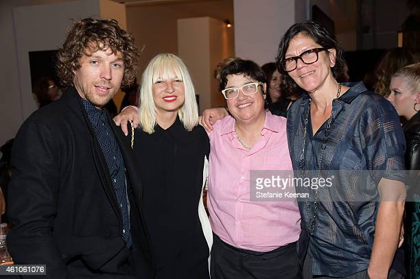 Erik Anders Lang Sia Furler and Cathy Opie Julie Burleigh attend Hammer Museum 12th Annual Gala In The Garden With Generous Support From Bottega...