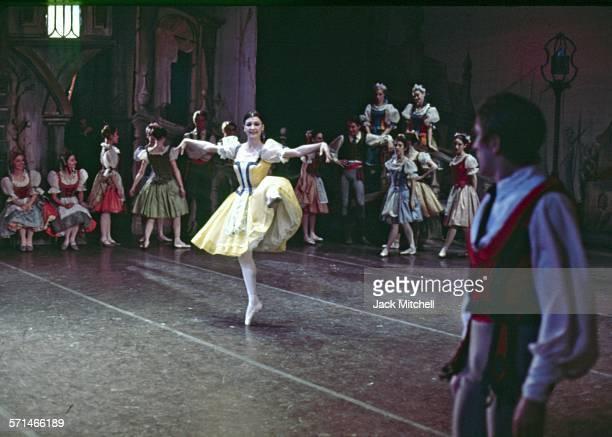 "Erik Bruhn and Carla Fracci pderforming American Ballet Theatre's ""Coppelia"" in December 1968."
