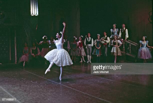 Erik Bruhn and Carla Fracci pderforming American Ballet Theatre's Coppelia in December 1968