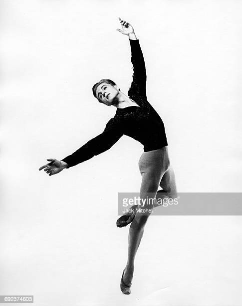 Erik Bruhn performing the American Ballet Theatre's Giselle in 1956