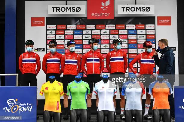 Erik Bystrom Sven of Norway, Andre Drege of Norway, Aspelund Holstad Ludvik of Norway, Adne Holter of Norway, Alexander Kristoff of Norway, Andreas...