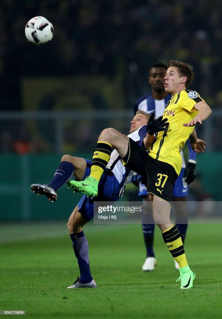 Borussia Dortmund v Hertha BSC - DFB Cup Round Of 16