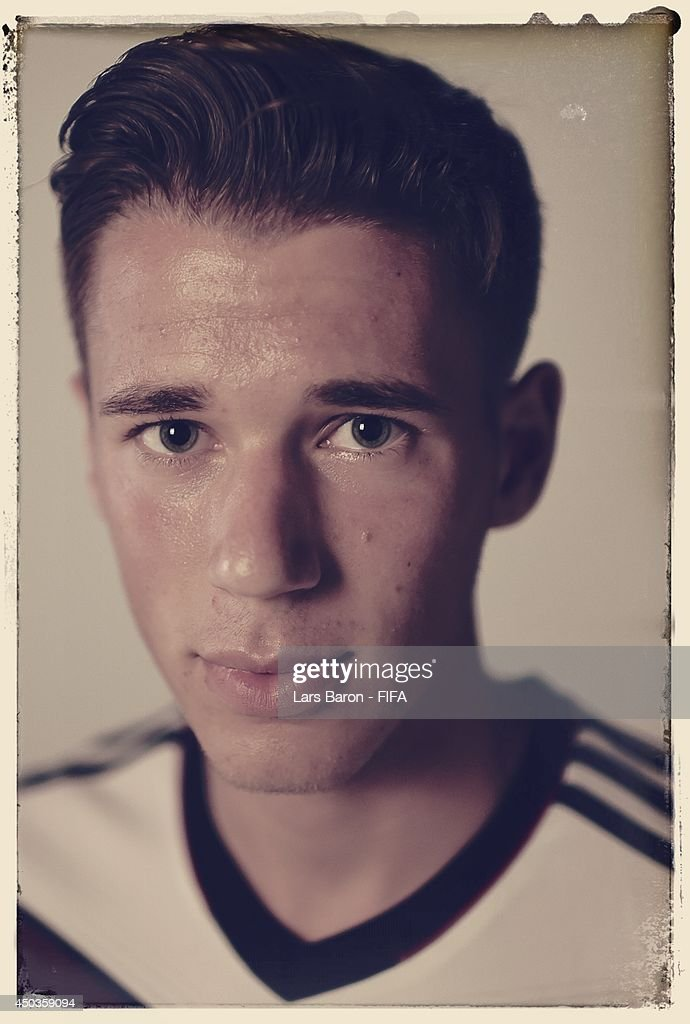 Erik Durm of Germany poses during the official FIFA World Cup 2014 portrait session on June 8, 2014 in Salvador, Brazil.