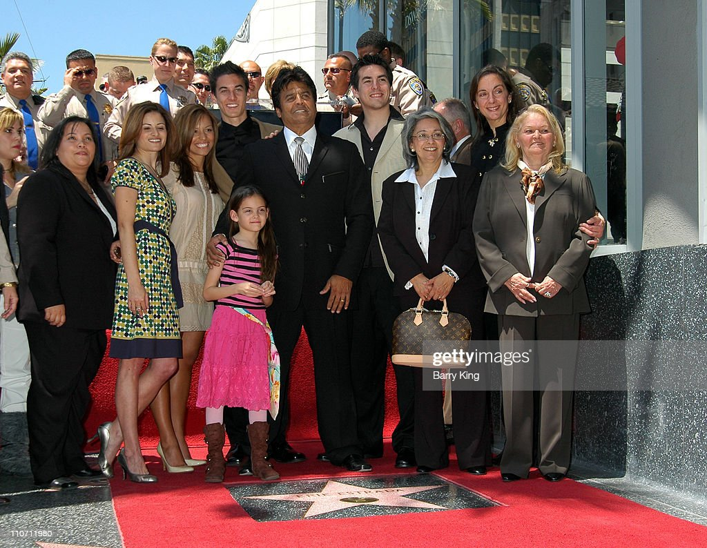 Erik Estrada and family during Erik Estrada Honored with Star on the Hollywood Walk of Fame at 7021 Hollywood Blvd. in Hollywood, California, United States.
