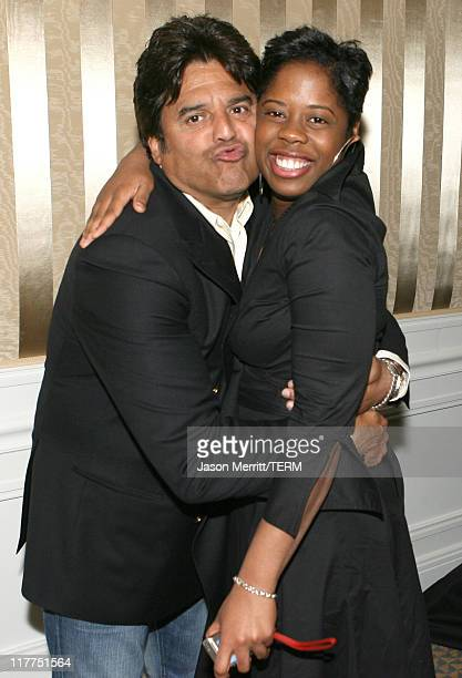 Erik Estrada and guest during 2006 TV Land Awards Affiliate Dinner at Shutters on the Beach in Santa Monica California United States