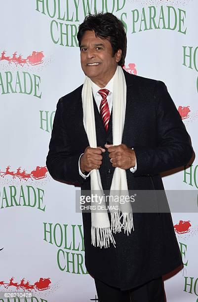 Erik Estrada arrives for the 85th annual Hollywood Christmas Parade on Hollywood Boulevard in Hollywood on November 27 2016 / AFP / CHRIS DELMAS