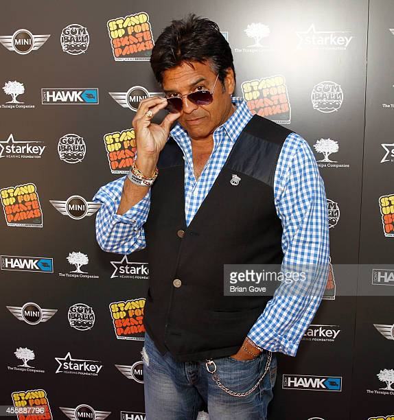 Erik Estrada attends 11th Annual Tony Hawk's Stand Up For Skateparks Benefit at Ron Burkle's Green Acres Estate on September 21 2014 in Beverly Hills...