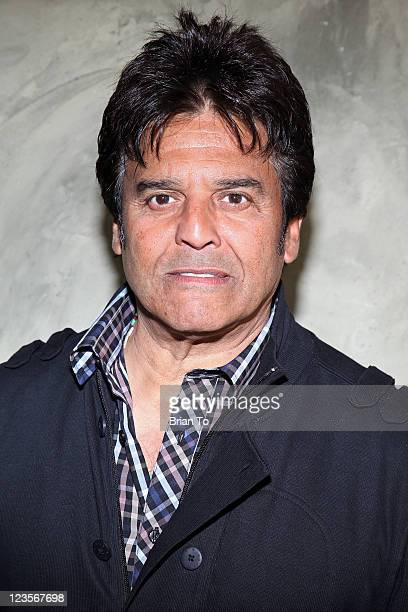 Erik Estrada attends Hollywood celebrity sporting clays invitational luncheon and presentation at Spago on February 5 2011 in Beverly Hills California
