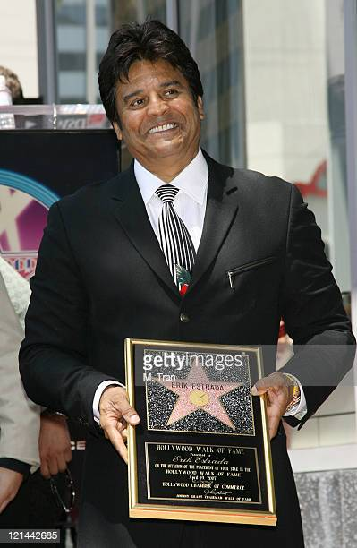 Erik Estrada during Erik Estrada Honored with a Star on the Hollywood Walk of Fame at 7021 Hollywood Blvd in front of DSW Shoes in Hollywood...