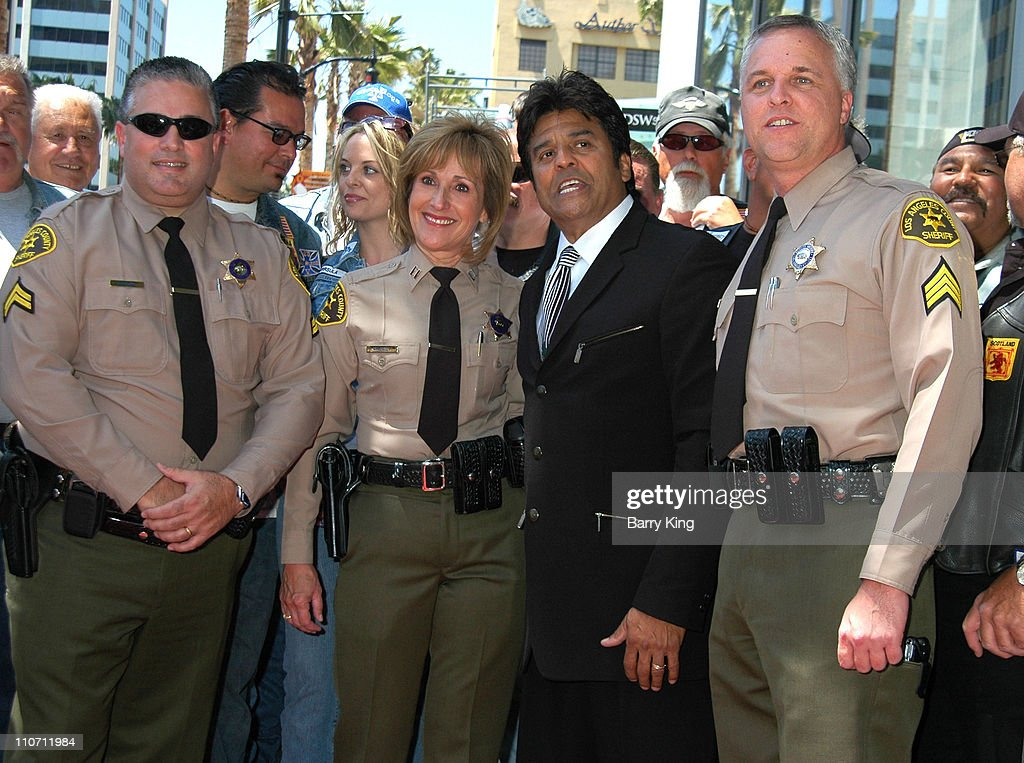 Erik Estrada during Erik Estrada Honored with Star on the Hollywood Walk of Fame at 7021 Hollywood Blvd. in Hollywood, California, United States.