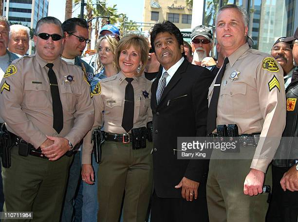 Erik Estrada during Erik Estrada Honored with Star on the Hollywood Walk of Fame at 7021 Hollywood Blvd in Hollywood California United States