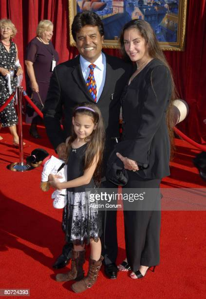 Erik Estrada Nanette Mirkovich and daughter Francesca