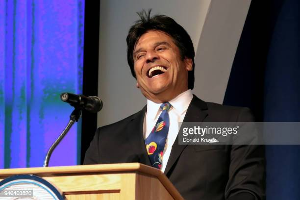 Erik Estrada was the Special Guest and Emcee at the 2018 Mr Mature America Pageant on The Music Pier on April 14 2018 in Ocean City New Jersey
