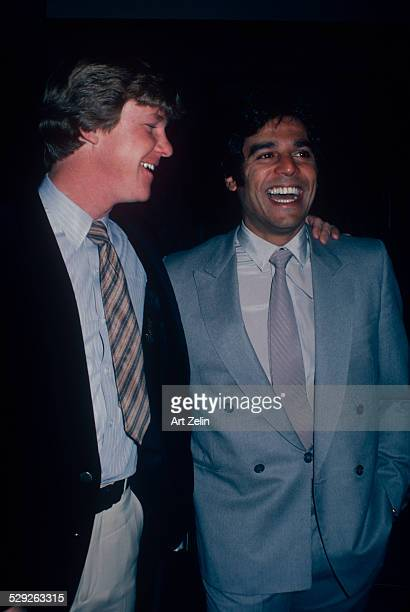 Erik Estrada with Larry Wilcox circa 1970 New York