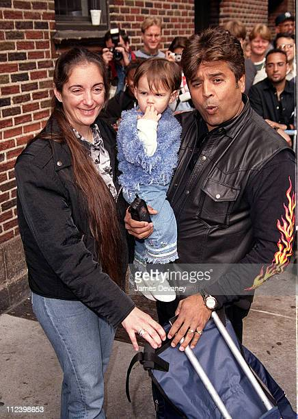 Erik Estrada with wife Nanette and daughter Francesca