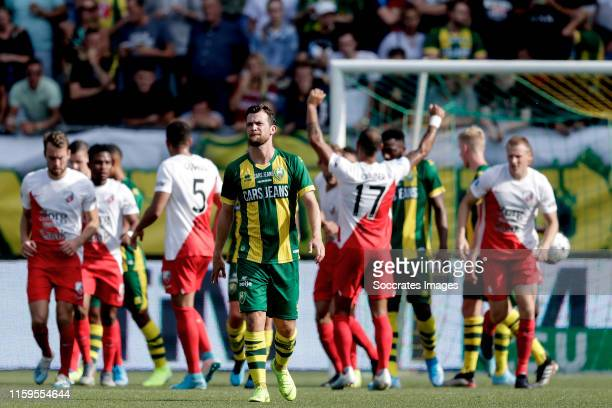 Erik Falkenburg of ADO Den Haag during the Dutch Eredivisie match between ADO Den Haag v FC Utrecht at the Cars Jeans Stadium on August 4 2019 in Den...