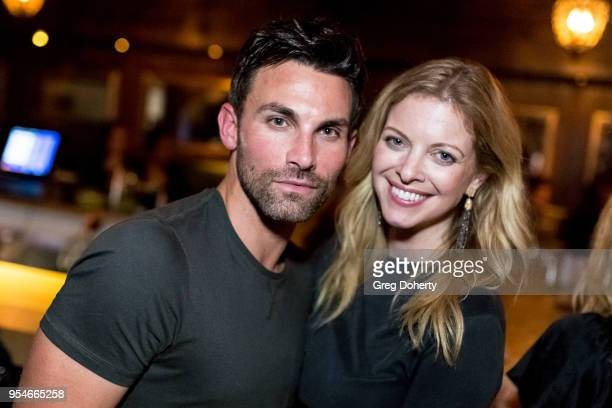 Erik Fellows and Hilary Barraford attend the Gregori J Martin Birthday Party at Paloma on May 3 2018 in Los Angeles California