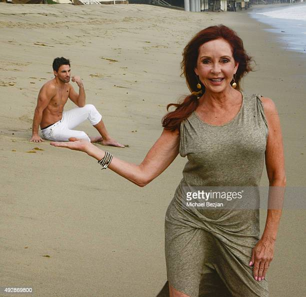 Erik Fellows and Jacklyn Zeman at The Bay The Series New Intro Promotional Shoot on October 15 2015 in Los Angeles California