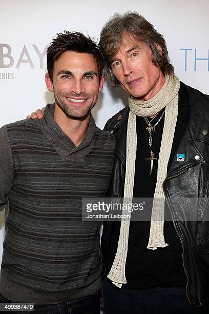 Erik Fellows and Ronn Moss attend the screening of LANY Entertainment's The Bay at DOMA on November 30 2015 in Beverly Hills California