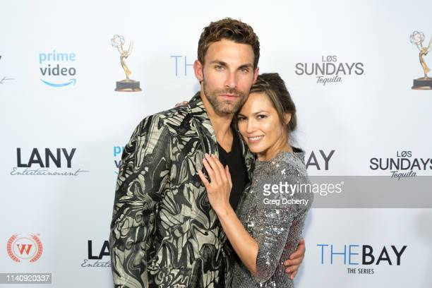 Erik Fellows and Terri Ivens attend The Bay The Series PreEmmy Red Carpet Celebration at The Shelby on May 2 2019 in Los Angeles California