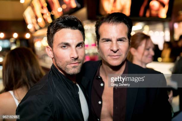 Erik Fellows and Vincent de Paul attend The Bay's PreEmmy Red Carpet Celebration at 33 Taps Hollywood on April 26 2018 in Los Angeles California