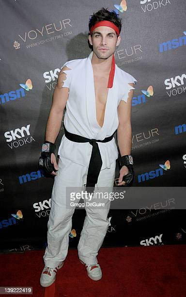 Erik Fellows arrives at Heidi Klum's 10th Annual Halloween Party Presented By MSN and Skyy Vodka at Voyeur on October 31 2009 in West Hollywood...