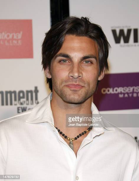 Erik Fellows arrives at the Entertainment Weekly and Women In Film's PreEmmy Party at the Restaurant at The Sunset Marquis Hotel on September 17 2009...
