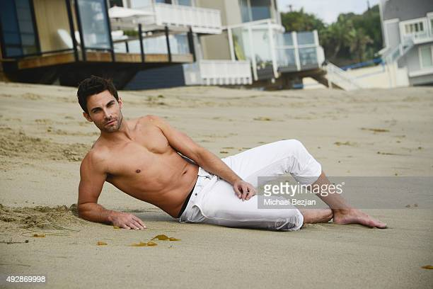 Erik Fellows at The Bay The Series New Intro Promotional Shoot on October 15 2015 in Los Angeles California