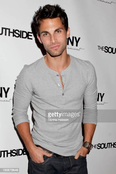 Erik Fellows attends Kristos Andrews birthday celebration at Tru Hollywood on August 23 2012 in Hollywood California