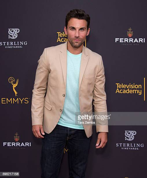 Erik Fellows attends Television Academy's Daytime Television Celebration at Saban Media Center on August 24 2016 in North Hollywood California