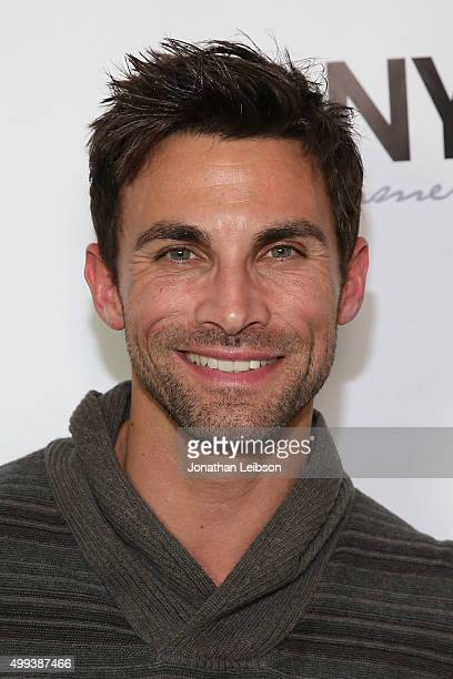 Erik Fellows attends the screening of LANY Entertainment's The Bay at DOMA on November 30 2015 in Beverly Hills California