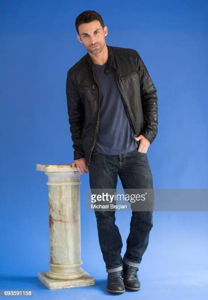 Erik Fellows poses for portrait Cast Members Of The Bay Visit The Artists Project on June 7 2017 in Los Angeles California