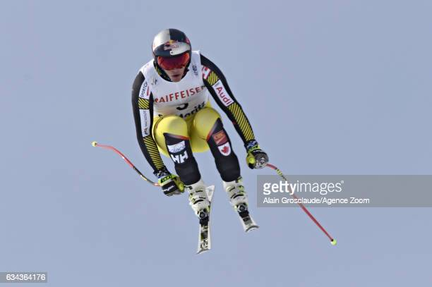Erik Guay of Canada competes during the FIS Alpine Ski World Championships Men's and Women's Downhill Training on February 09 2017 in St Moritz...