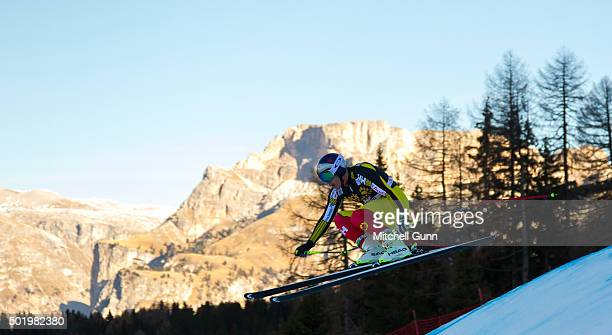 Erik Guay of Canada during the downhill race at the Audi FIS Alpine Ski World Cup on December 19 2015 in Val Gardena Italy