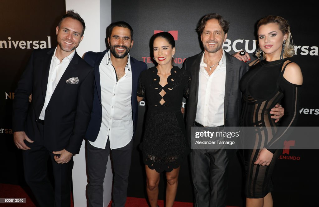 Telemundo And NBC Universal Latin America NATPE Red Carpet Event