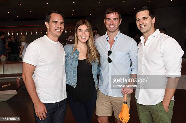 Erik Hodge Heather Warburton Gray Hudkins and Joe Smithey attend MAK GAMES 2015 on July 18 2015 in Beverly Hills California