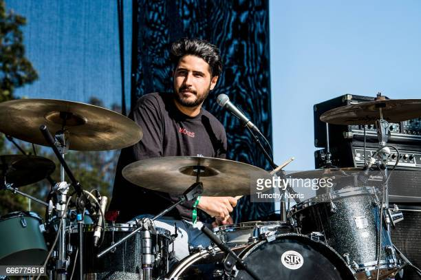 Erik Jimenez of together PANGEA performs during When We Were Young Festival 2017 at The Observatory on April 9 2017 in Santa Ana California