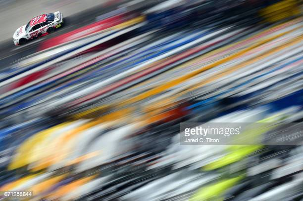 Erik Jones driver of the Sport Clips Toyota drives during practice for the Monster Energy NASCAR Cup Series Food City 500 at Bristol Motor Speedway...