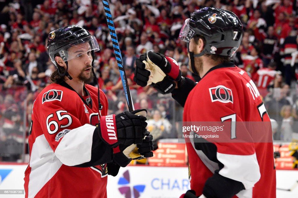 Pittsburgh Penguins v Ottawa Senators - Game Six : Nachrichtenfoto