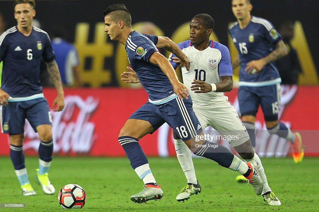 United States v Argentina: Semifinal - Copa America Centenario : News Photo