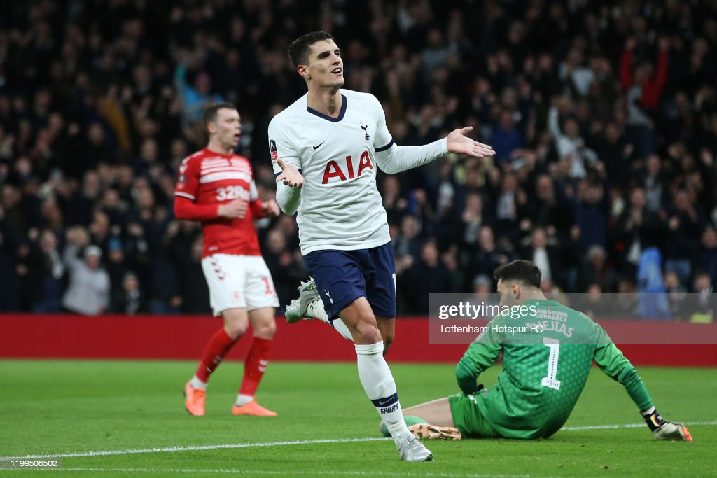 Tottenham Hotspur v Middlesbrough FC - FA Cup Third Round: Replay : News Photo
